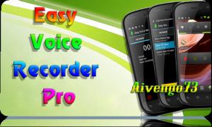Easy Voice Recorder Pro 1.9.1 [Ru] - Диктофон