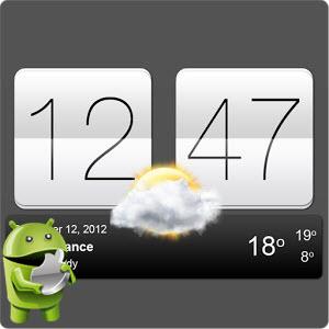Sense V2 Flip Clock and Weather v1.00.11.02 [Ru/Multi] - многофункциональные цифровые часы с прогнозом погоды