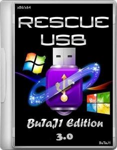 Rescue USB 16 Gb (BuTaJ1 Edition) 3.0 [Ru/En]