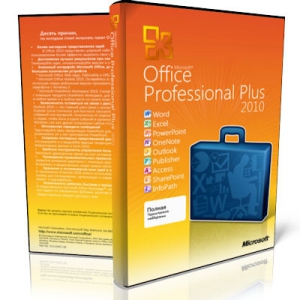 Microsoft Office 2010 Pro Plus + Visio Premium + Project Pro + SharePoint Designer SP2 14.0.7214.5000 VL (x86) RePack by SPecialiST v18.10 [Ru/En]