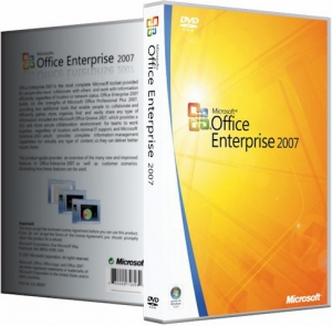 Microsoft Office 2007 Enterprise + Visio Premium + Project Pro + SharePoint Designer SP3 12.0.6802.5000 RePack by SPecialiST v18.10 [Ru/En]