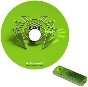 Dr.Web LiveDisk CD/USB 9.0 (19.10.2015) [Ru/En]