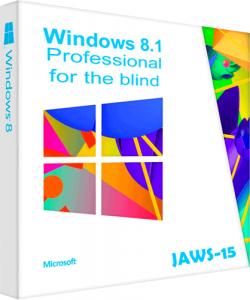 Windows 8.1 x86 Professional JAWS 15 для незрячих. 2016.02.01 [Ru]