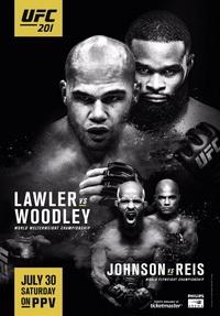Смешанные единоборства - UFC Fight Night 201: Lawler vs. Woodley