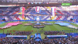 Футбол. Чемпионат Европы 2016 (Финал) Португалия - Франция + Награждение | 50 fps