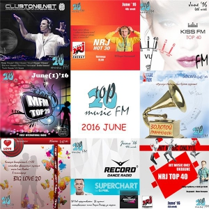 Сборник - Radio Top musicFM - June
