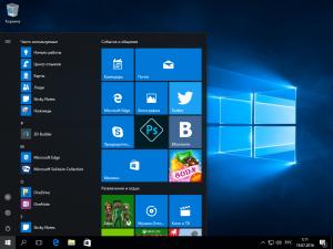 Microsoft Windows 10 RTM-Escrow Version 1607 build 10.0.14393 (esd) [Ru/En]
