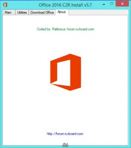 Microsoft Office 2013-2016 C2R Install 5.7 Full | Lite by Ratiborus [Multi/Ru]
