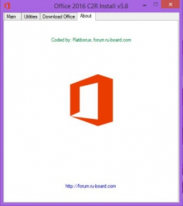 Microsoft Office 2013-2016 C2R Install 5.8 Full | Lite by Ratiborus [Multi/Ru]