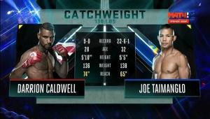 Смешанные единоборства - MMA. Bellator 159: Caldwell vs. Taimanglo | МатчТВ
