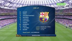 Футбол. Международный кубок чемпионов. Барселона - Селтик
