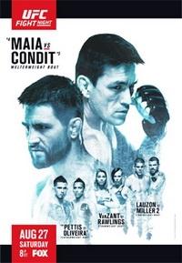 Смешанные единоборства - UFC on FOX 21: Maia vs. Condit