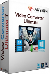AnyMP4 Video Converter Ultimate 7.2.56 RePack (& Portable) by TryRooM [Multi/Ru]