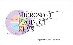 Microsoft Product Keys 2.5.0 [Multi/Ru]