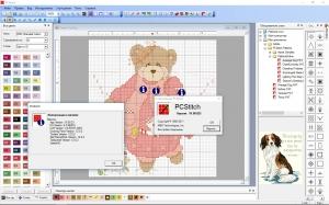 PCStitch 10.00.023 RePack + Portable by Tyran [Ru/En]