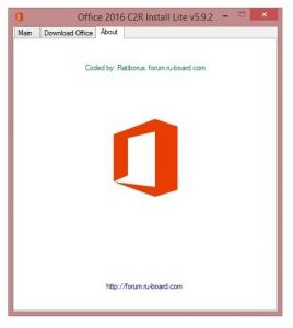 Microsoft Office 2013-2016 C2R Install 5.9.2 Full   Lite by Ratiborus [Multi/Ru]