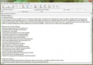 NextUp TextAloud 3.0.103 + European Voice Engines (16 Engines) [En]