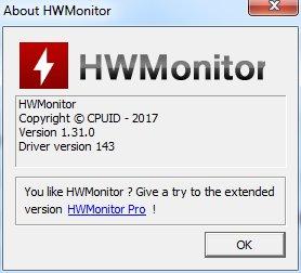 CPUID HWMonitor 1.31 + Portable [En]