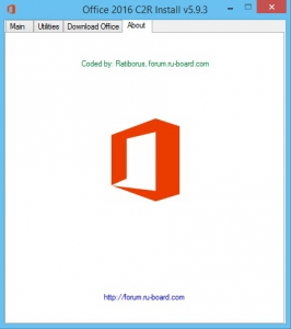 Microsoft Office 2013-2016 C2R Install 5.9.3 by Ratiborus [Multi/Ru]