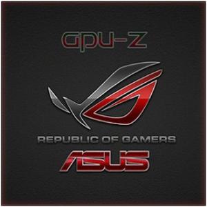 GPU-Z 1.18.0 + ASUS ROG Skin [En]