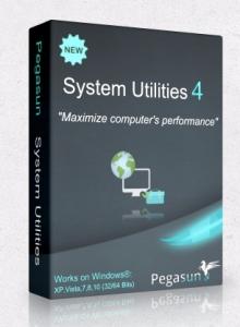 Pegasun System Utilities 4.30 RePack by tolyan76 [Multi/Ru]