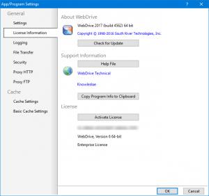WebDrive Enterprise 2017 Build 4562 [En]