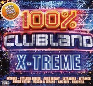 VA - 100% Clubland X-Treme (4CD)