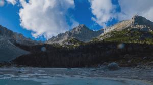 Всемирное природное наследие. Итальянские Доломиты - Падение в Альпах
