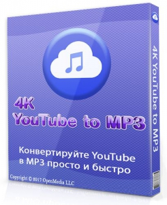 4K YouTube to MP3 3.8.2.3082 RePack (& Portable) by TryRooM [Multi/Ru]