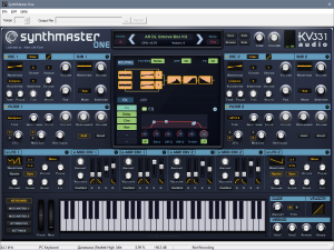 KV331 Audio - SynthMaster One 1.1.6 STANDALONE, VSTi, AAX (x86/x64) Repack by VR (11.08.2018) [En]