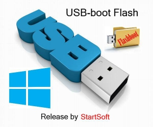 USB Boot-Flash Windows Release by StartSoft 26-2018 [Ru]