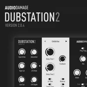 Audio Damage - Dubstation 2 2.0.4 VST, VST3, AAX (x86/x64) RePack by SYNTHiC4TE [En]