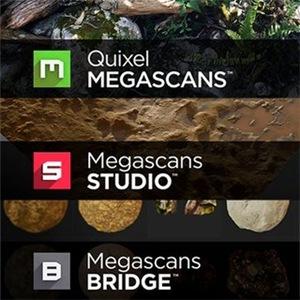 Quixel Megascans + Studio + Bridge 0.922 beta [En]