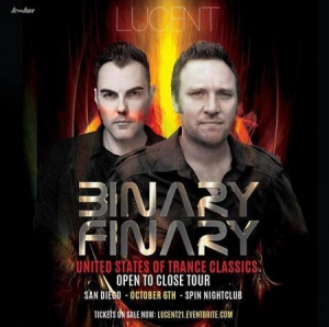 Binary Finary - Live @ Spin San Diego, United States Of Trance Classics