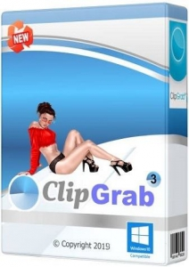 ClipGrab 3.8.10 RePack (& Portable) by TryRooM [Multi/Ru]