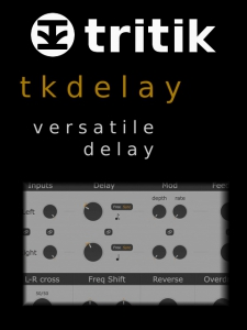 Tritik - tkDelay 1.4.6 VST, AAX (x86/x64) [En]