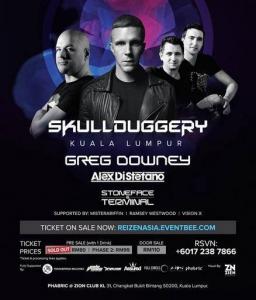 Greg Downey - Live @ Zion Club, Malaysia 2019-04-26