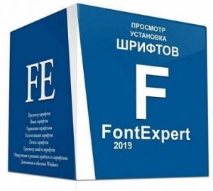 FontExpert 2019 16.0 Release 3 RePack (& Portable) by elchupacabra [Multi/Ru]