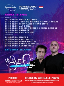 VA - Luminosity pres. FSOE Club Nights, Panama Amsterdam, Netherlands