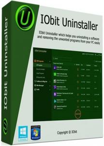 IObit Uninstaller Pro 9.1.0.8 RePack (& Portable) by D!akov [Multi/Ru]