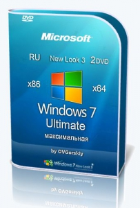 Microsoft Windows 7 Ultimate Ru x86-x64 SP1 NL3 by OVGorskiy® 09.2020 2DVD
