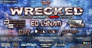 VA - Adrenalin Sessions pres. Wrecked, Egg London, United Kingdom 2019-08-03