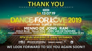 Jorn van Deynhoven - Live @ Dance For Love Festival, MTW Club Offenbach, Germany 2019-07-13