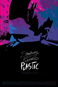 Пластик с клубничным вкусом