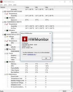 CPUID HWMonitor 1.42 + Portable [En]