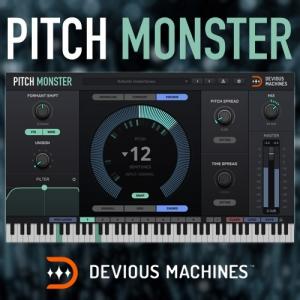 Devious Machines - Pitch Monster 1.2.3 VST, VST3, AAX (x86/x64) [En]