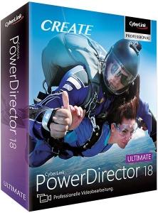 CyberLink PowerDirector Ultimate 18.0.2313.0 [Multi/Ru]