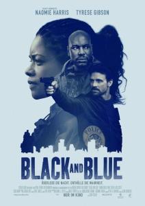 Чёрный и синий