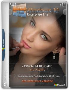 Windows 10 Enterprise x64 lite 1909 build 18363.592 by Zosma