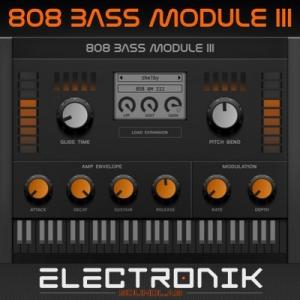 Electronik Sound Lab - 808 Bass Module III 3.3.1 VSTi, VSTi3 (x86/x64) Retail + Dynamite Expansion v.5 [En]